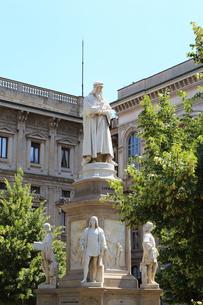 レオナルド・ダ・ヴィンチ像の写真素材 [FYI02674907]