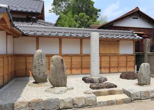 松尾芭蕉句碑の写真素材 [FYI02674926]
