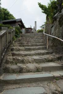 14番常楽寺石段の写真素材 [FYI02674939]
