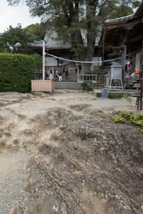 14番常楽寺流水岩の庭の写真素材 [FYI02674955]