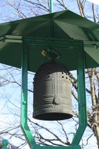 竹成大日堂の鐘の写真素材 [FYI02674962]