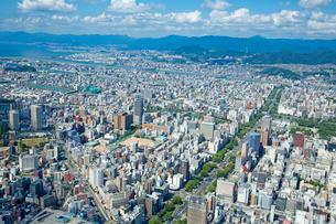 広島市富士見町上空より西方向の写真素材 [FYI02674980]