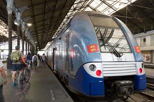 パリ東駅(ガール・ドゥ・レスト)の写真素材 [FYI02675040]