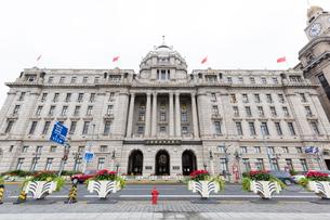 現代建築、上海浦東発展銀行の写真素材 [FYI02675084]