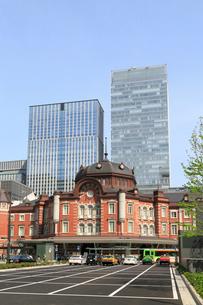 東京駅赤レンガ駅舎の写真素材 [FYI02675090]