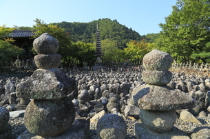 あだしの念仏寺の写真素材 [FYI02675125]