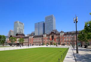 東京駅赤レンガ駅舎の写真素材 [FYI02675233]