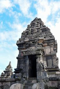 インドネシアの世界文化遺産プランバナン寺院群の写真素材 [FYI02675278]