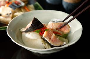 鮭の粕漬けの写真素材 [FYI02675281]