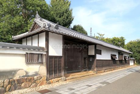 亀山宿 加藤家屋敷跡の写真素材 [FYI02675288]