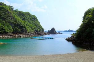くじら浜海水浴場の写真素材 [FYI02675346]