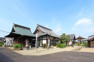 旧中山道太田宿祐泉寺の写真素材 [FYI02675388]