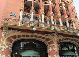カタルーニャ音楽堂の写真素材 [FYI02675390]