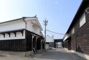 旧中山道太田宿の造り酒屋の写真素材 [FYI02675391]
