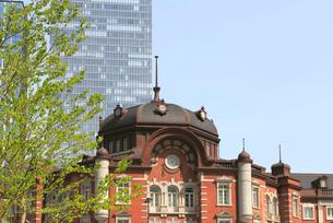 東京駅赤レンガ駅舎の写真素材 [FYI02675401]
