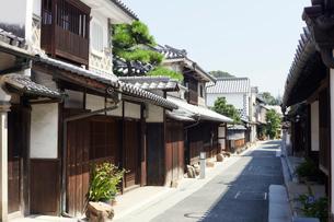 倉敷美観地区の東町通りの写真素材 [FYI02675438]