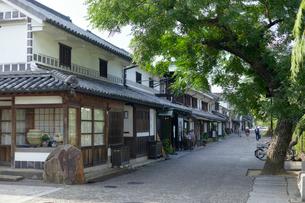 倉敷美観地区の街並みの写真素材 [FYI02675443]