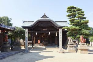 祇園神社の写真素材 [FYI02675511]
