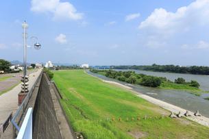 木曽川の写真素材 [FYI02675569]
