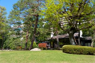 殿ヶ谷戸庭園の春の風景の写真素材 [FYI02675590]