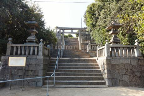 祇園神社の写真素材 [FYI02675668]