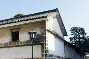 倉敷美観地区の街並みの写真素材 [FYI02675697]