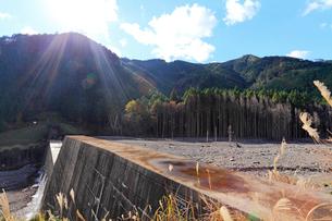 砂防ダムの写真素材 [FYI02675729]