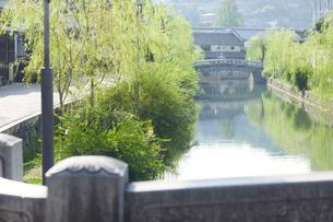 倉敷美観地区の街並みの写真素材 [FYI02675737]