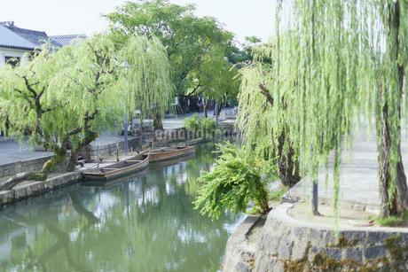 倉敷美観地区の街並みの写真素材 [FYI02675765]