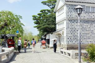 倉敷美観地区の街並みの写真素材 [FYI02675794]