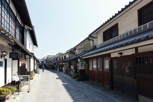 倉敷美観地区の本町通りの写真素材 [FYI02675888]
