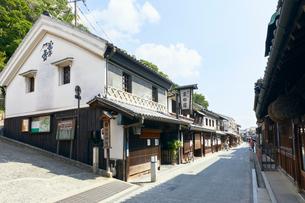 倉敷美観地区の本町通りの写真素材 [FYI02675900]