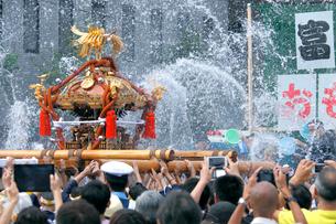 深川八幡祭りの写真素材 [FYI02675907]