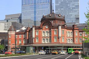 東京駅赤レンガ駅舎の写真素材 [FYI02675917]