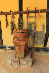 遠野ふるさと村 河童のオブジェの写真素材 [FYI02675974]