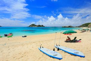 慶良間諸島,渡嘉敷島の阿波連ビーチの写真素材 [FYI02675999]