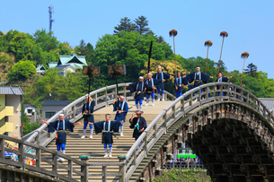 錦帯橋まつりの写真素材 [FYI02676011]