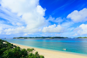 慶良間諸島,阿嘉島,ニシバマビーチの写真素材 [FYI02676017]