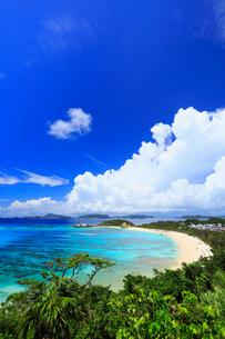 慶良間諸島,渡嘉敷島の阿波連ビーチの写真素材 [FYI02676066]