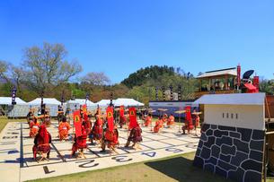 天童桜まつり 人間将棋の写真素材 [FYI02676077]