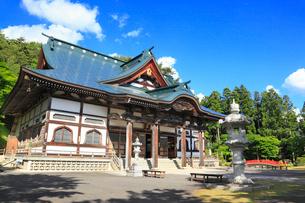 遠野の里 福泉寺の写真素材 [FYI02676152]