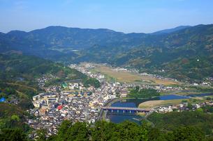 冨士山から望む市街の写真素材 [FYI02676239]