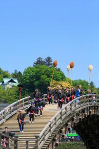 錦帯橋まつりの写真素材 [FYI02676244]