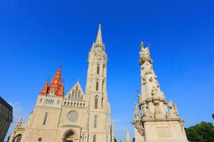 ブダペスト 王宮の丘に建つマーチャーシュ教会の写真素材 [FYI02676260]