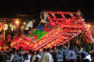 飯坂温泉 飯坂けんか祭りの写真素材 [FYI02676377]