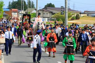春の藤原祭りの写真素材 [FYI02676402]