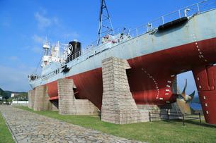 捕鯨船の写真素材 [FYI02676467]
