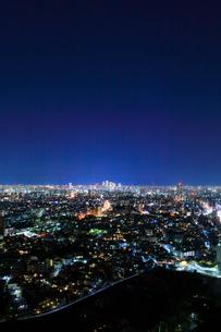 名古屋の街明かり 夜景の写真素材 [FYI02676566]