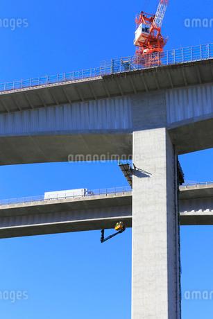 高架橋工事の写真素材 [FYI02676668]