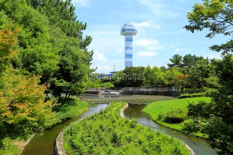 木曽三川公園センターの写真素材 [FYI02676692]